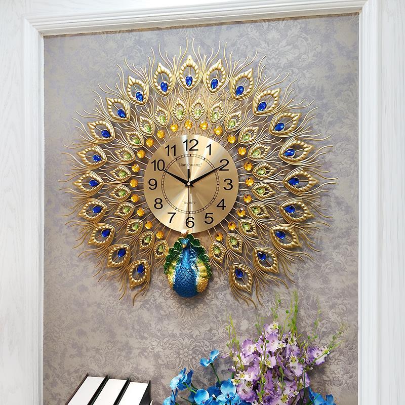 Đồng hồ treo tường phòng khách DH914 - TƯỜNG XINH