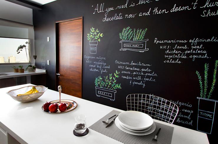Nhà bếp phong cách hiện đại bởi Concepto Taller de Arquitectura Hiện đại