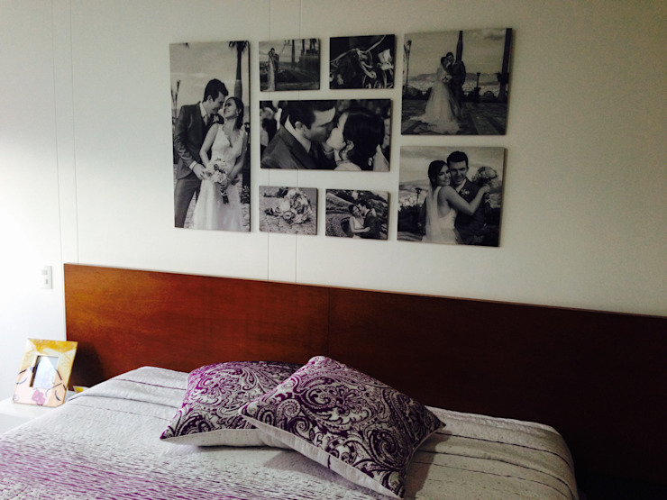 Tường & sàn phong cách hiện đại bởi Cuarto de Luz: fotografía y decoración Hiện đại