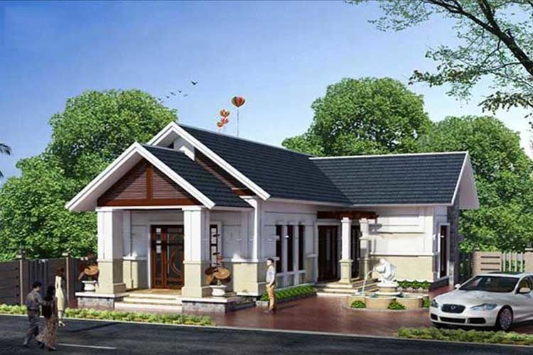 Top mẫu nhà cấp 4 mái thái giá 500 triệu nên tham khảo trước khi xây nhà