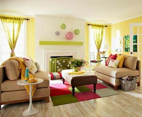 Ý tưởng trang trí nhà ở theo mùa | nội thất bình dương