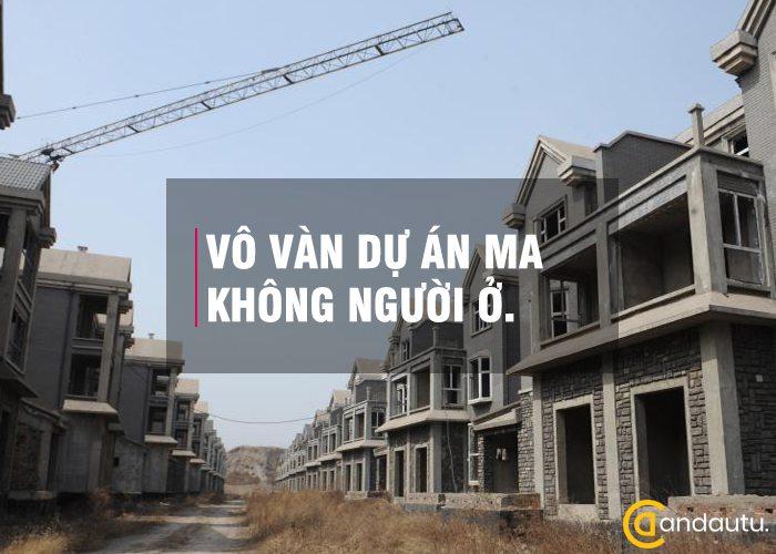 Dự án ma bởi bong bóng bất động sản