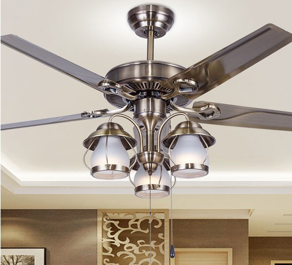 300+ mẫu Quạt Trần Đèn Chùm phòng khách - Đèn Quạt Trần trang trí