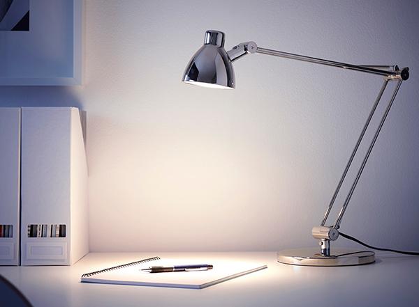Top 12 mẫu đèn bàn làm việc Ikea nổi tiếng thế giới