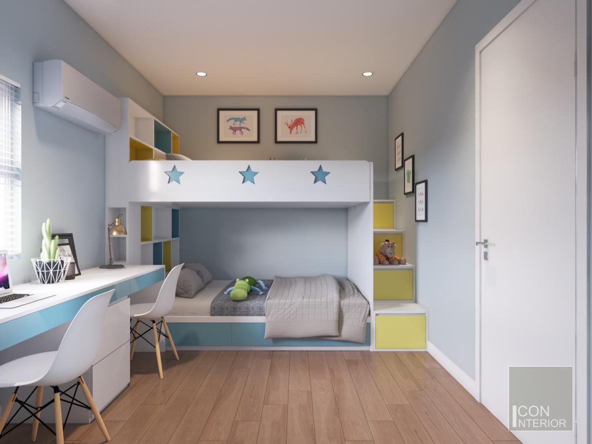 nội thất phòng trẻ em chung cư 3 phòng ngủ