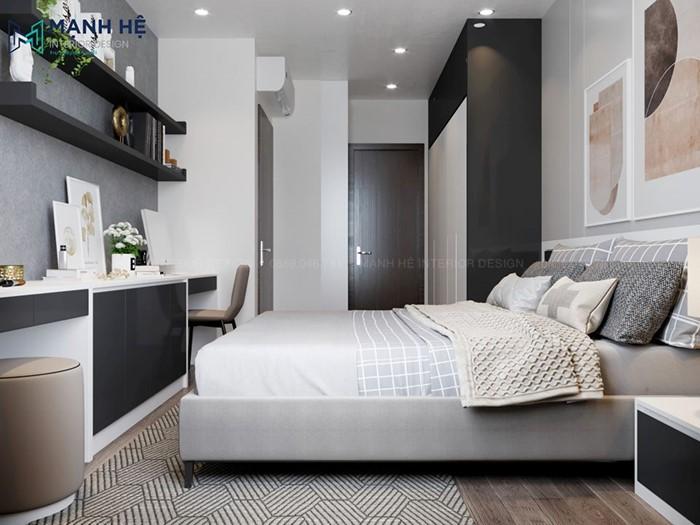 giường ngủ lớn hiện đại