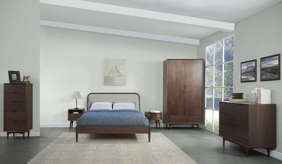 Phòng ngủ phong cách Retro Vintage