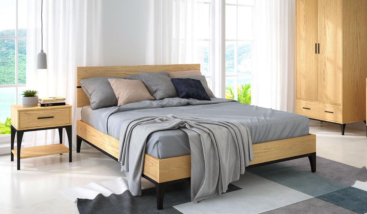 Mẫu nội thất phòng ngủ theo bộ phong cách Retro Vintage của Bentley Designs