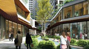 Dãy phố thương mại Dự án D – Aqua Bến Bình Đông