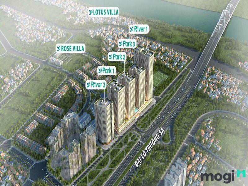 Dự án cung cấp cho thị trường số lượng căn hộ lớn