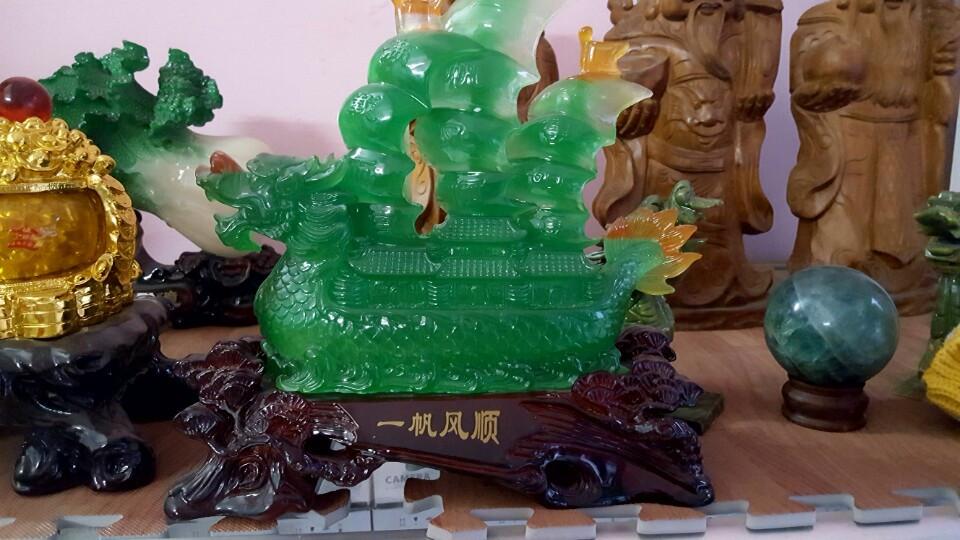 Thuyền Buồm đá - Phong Thủy Vĩnh Phúc