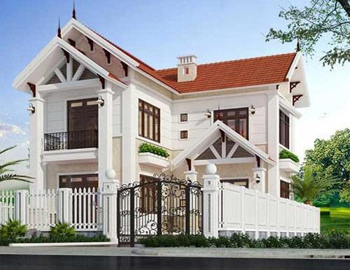 Thiết kế nhà phố mái ngói đẹp 2 tầng phong cách hiện đại | Thiết kế nhà, Nhà, Thiết kế