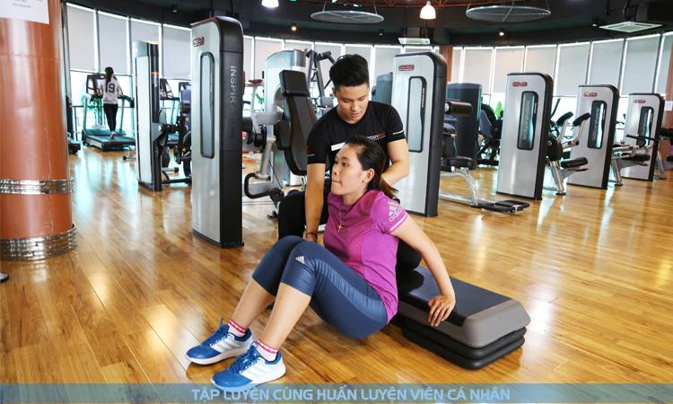 Huấn luyện viên cá nhân Gym, Yoga tập giảm cân tại nhà chuyên nghiệp
