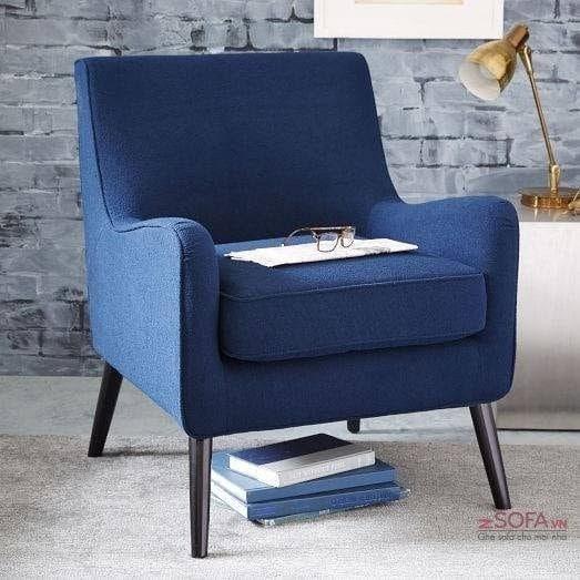 Kích thước nhỏ gọn nhưng sofa đơn vẫn đem đến sự sang trọng cuốn hút không thua kém các dòng sofa khác