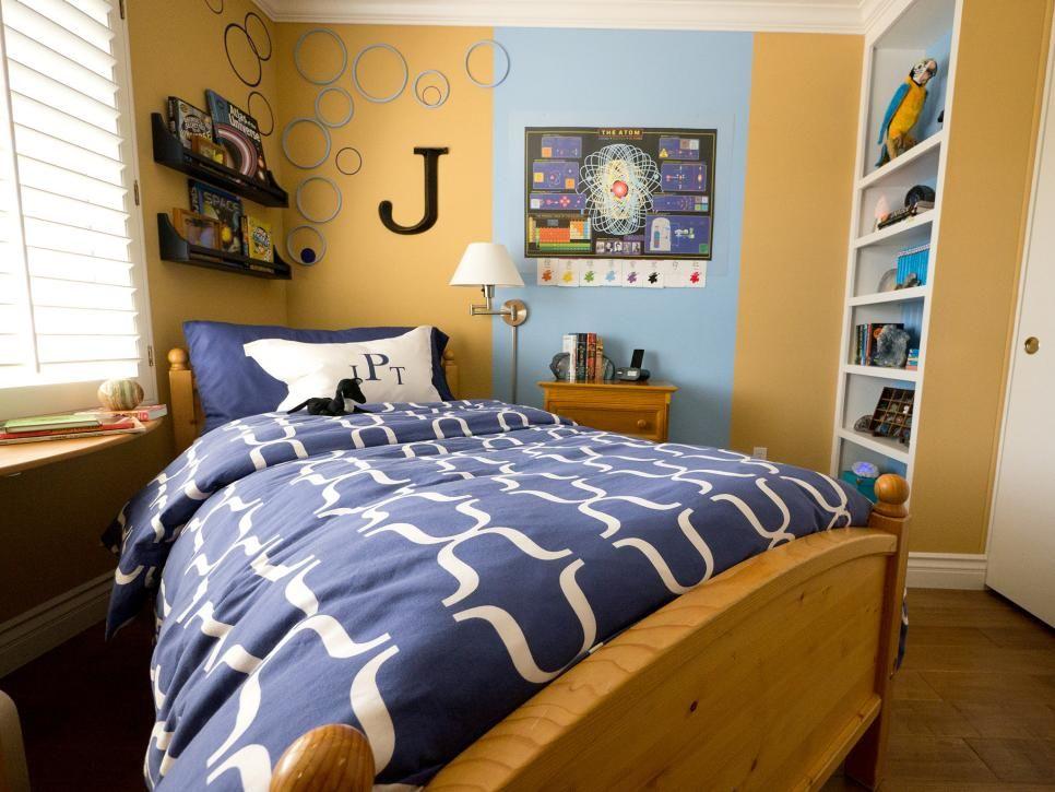 Phòng ngủ cho con trai lớn được bài trí một cách độc đáo