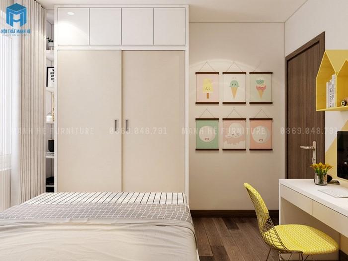 Phòng ngủ có bàn học