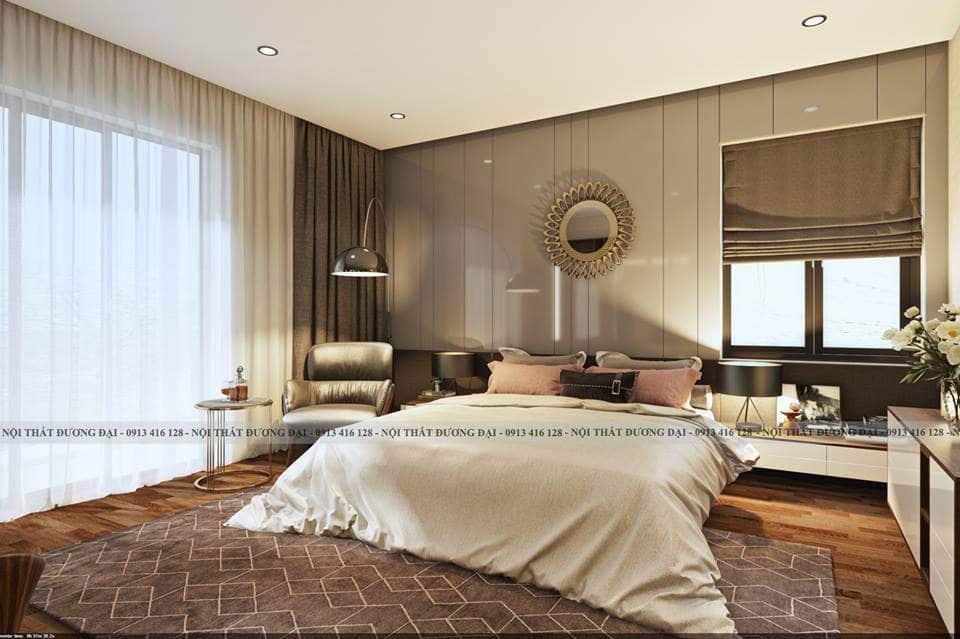Phòng ngủ Master đầy thư giãn cho vợ chồng gia chủ