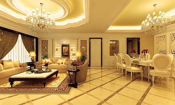 Thiết kế nội thất phong cách Châu Âu hiện đại, tiện nghi ⋆ Nội thất chung cư hiện đại