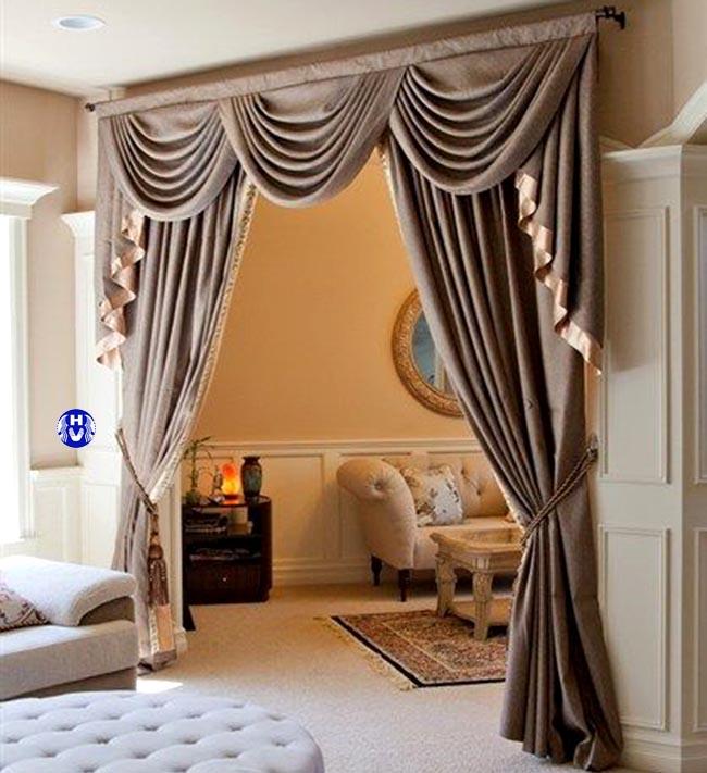 Môt mẫu rèm cửa thông phòng thiết kế bởi Hải Vân
