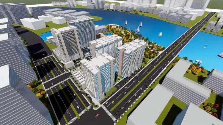 Phối cảnh Dự án căn hộ Thủ Thiêm River Park