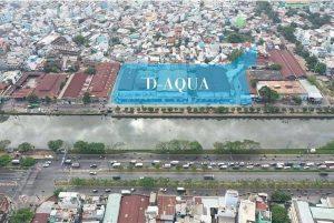 Vị trí tọa lạc dự án căn hộ D-Aqua quận 8