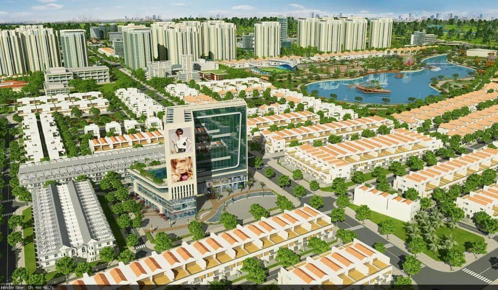 chi tiết dự án Đông Tăng Long