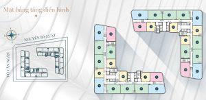 mặt bằng dự án King Crown Infinity