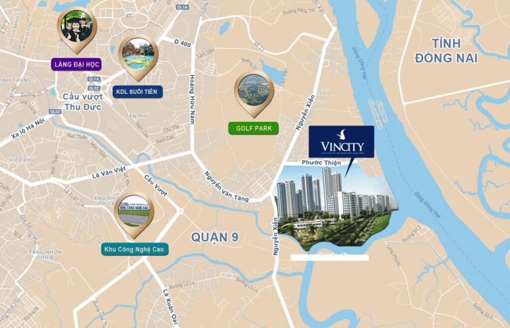 Khả năng kết nối của dự án Vinhomes Grand Park
