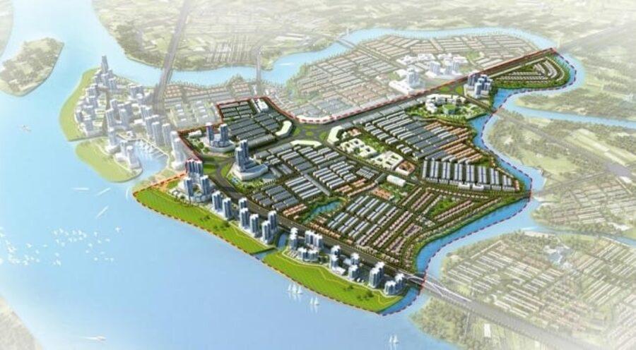 Mặt bằng dự ánIzumi City Nam Long