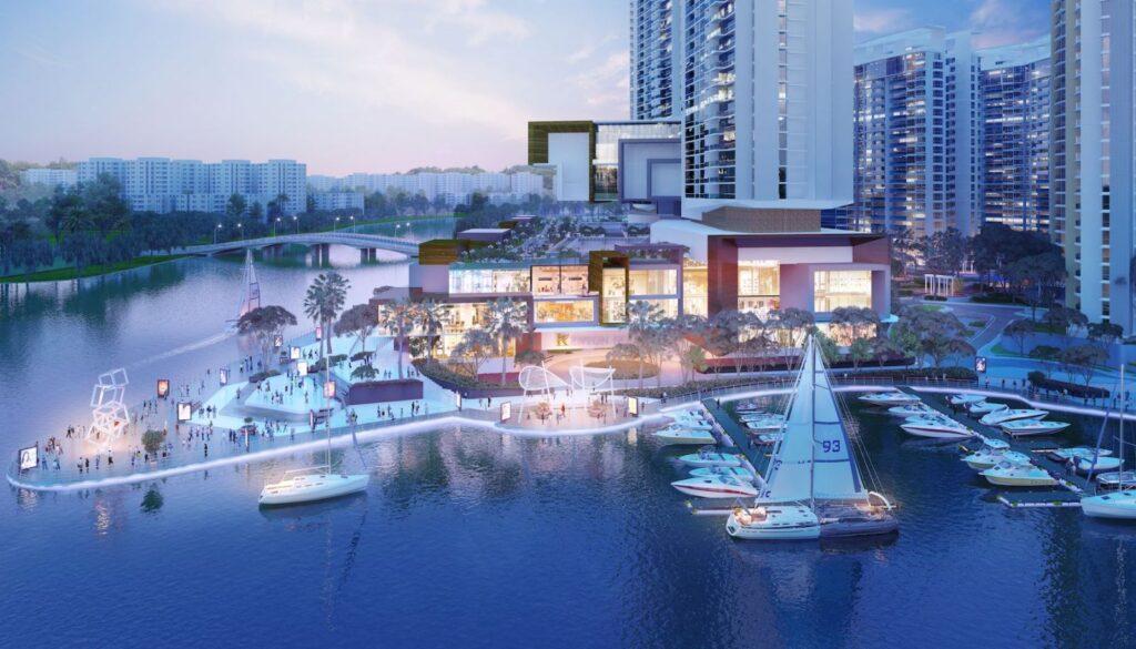 Thiết kế tiện ích dự án Izumi City
