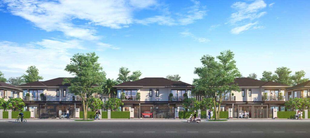 Thiết kế biệt thự song lập Izumi City