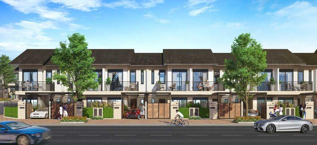 Thiết kế nhà phố Izumi City