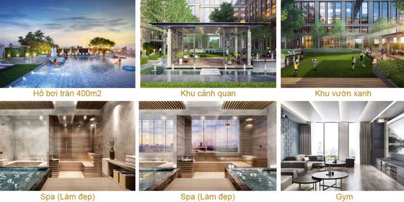 Tiện ích dự ánThe Grand Manhattan