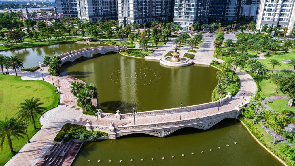 hình ảnh thực tế vinhomes central park