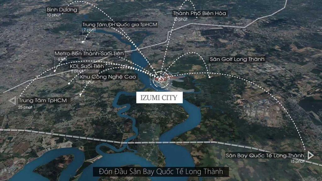 Tiềm năng Izumi City Nam Long