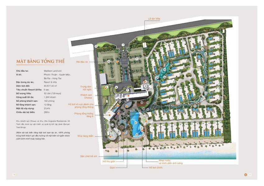 Mặt bằng dự án Angsana Residences