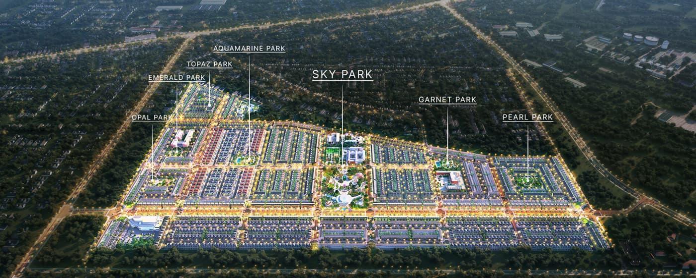 Phân khu dự án Gem Sky World